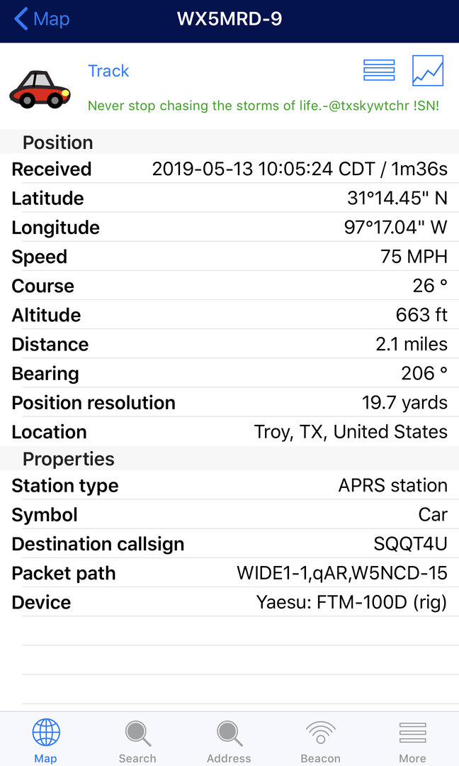 SN - Spotter Network: APRS—>SN Unstable Again | Stormtrack