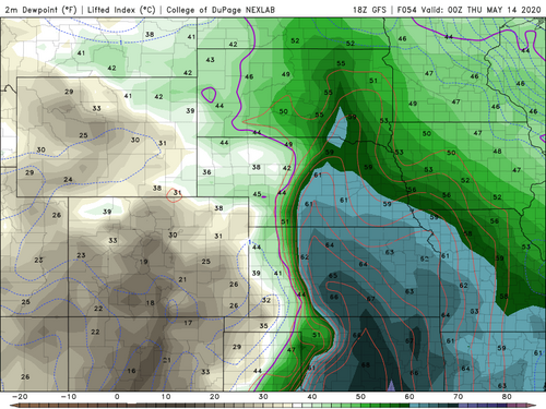 GFS 18Z Dewpoint North Kansas.png