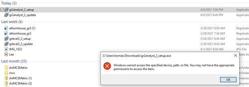 error when starting install grlvl2 analyst ver 2.jpg